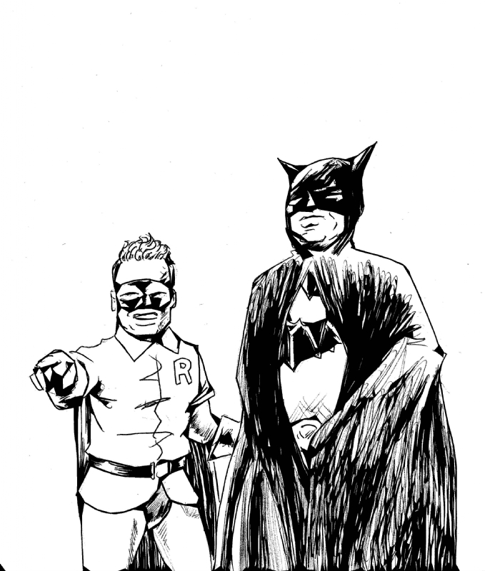 Batman And Robin(1949-serial), in Douglas Nelson's Douglas
