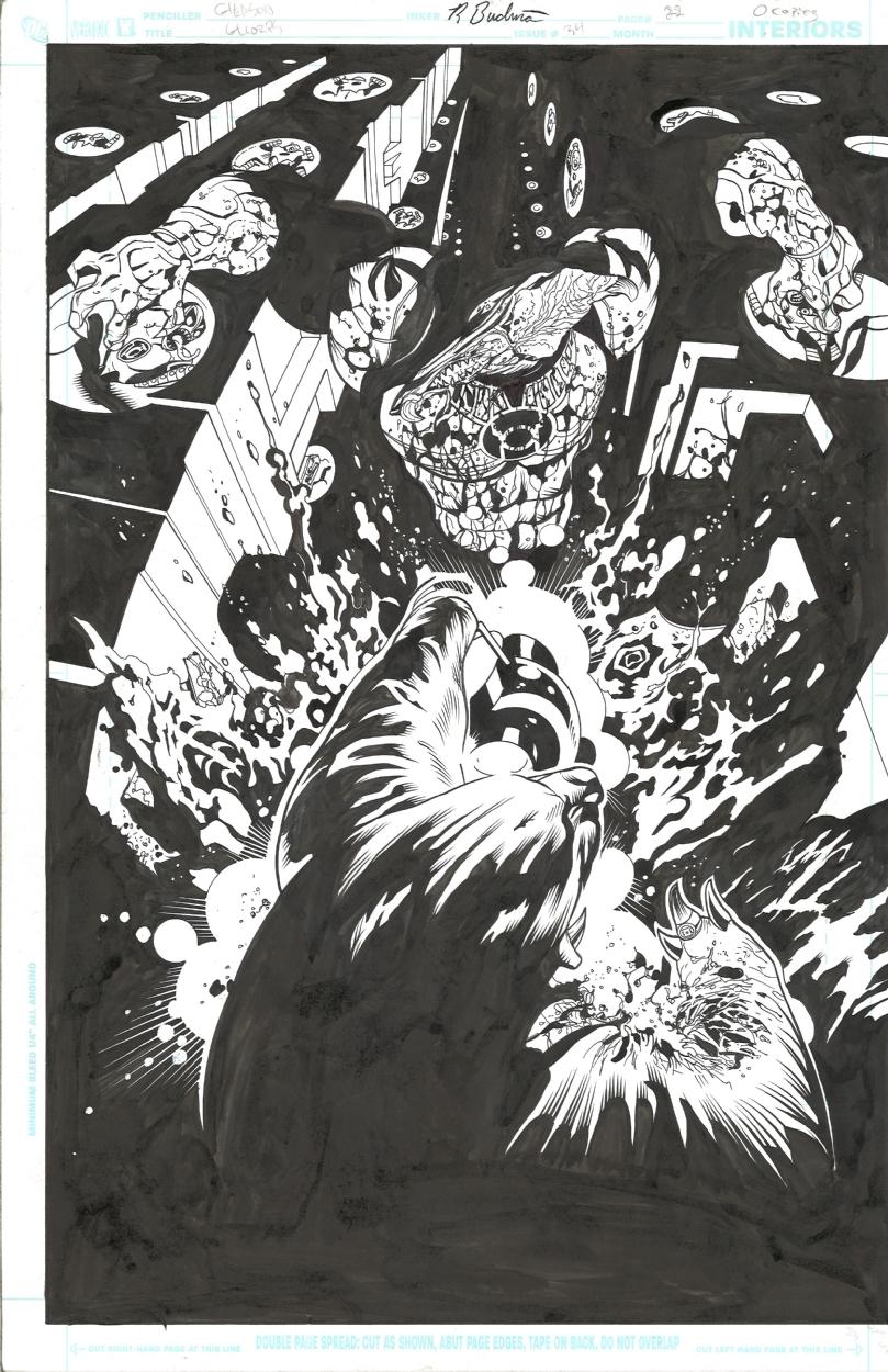 Green Lantern Corp issue #34 page #22 by Patrick Gleason Comic Art