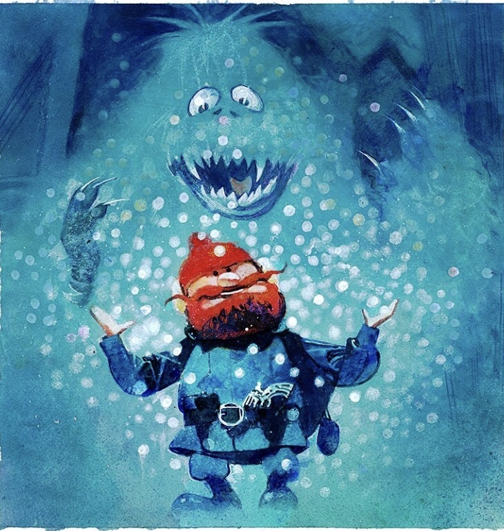 Yukon Cornelius Bumble From Rudolph The Red Nose Reindeer By Bill