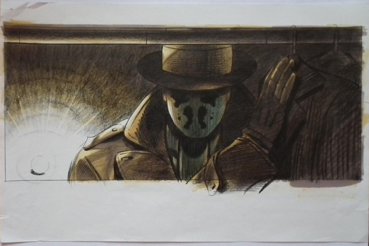Watchmen Movie Concept Art - Rorschach