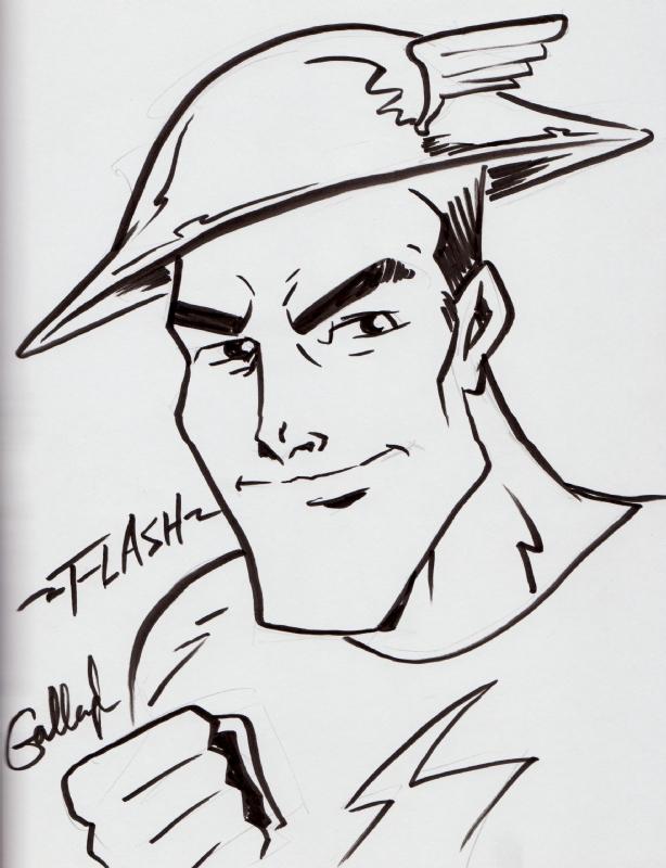 Flash Jay Garrick By John Gallagher In Jeff Smiths First