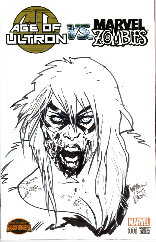 Black Cat Zombie By Emanuela Lupacchino In Wolfgang Bertram S