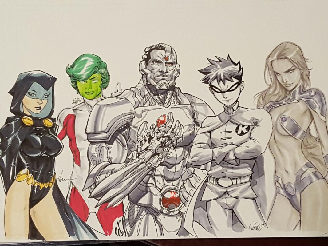 The Original 5 - Teen Titans Go Jam Final, In Eewwnuk 1S The -7229
