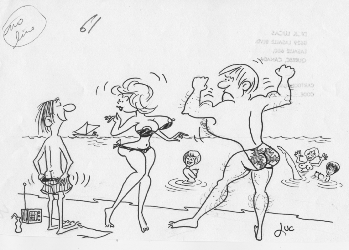 Adult Cartoon Comics dick lucas adult cartoon at the beach, in marshall k's adult