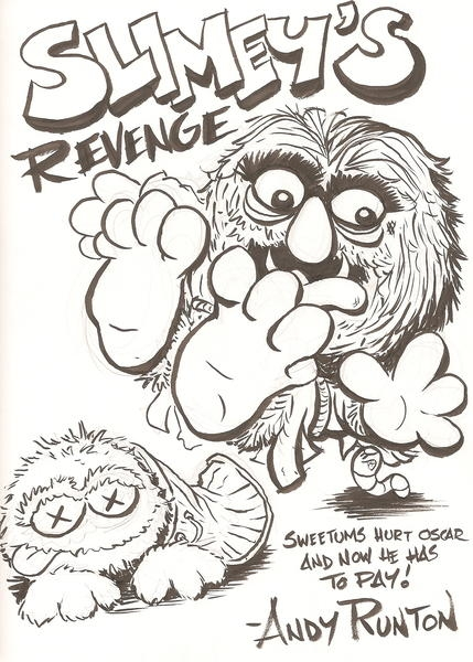 Slimey's Revenge by Andy Runton, in James Hardin's The