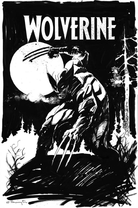 Wolverine Inked By Mark Pennington In Inkwell Awardss 2015 Joe