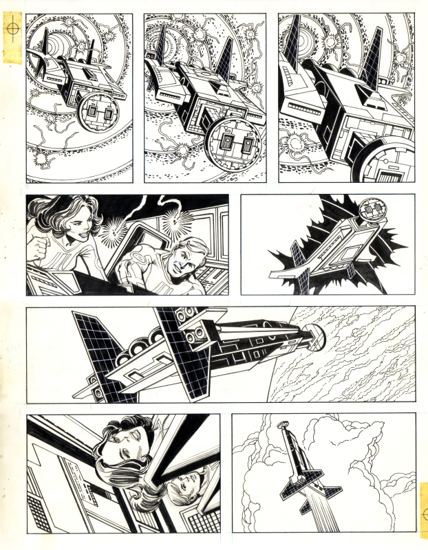 Atari Force unpublished story, page 04 featuring Lydia Perez