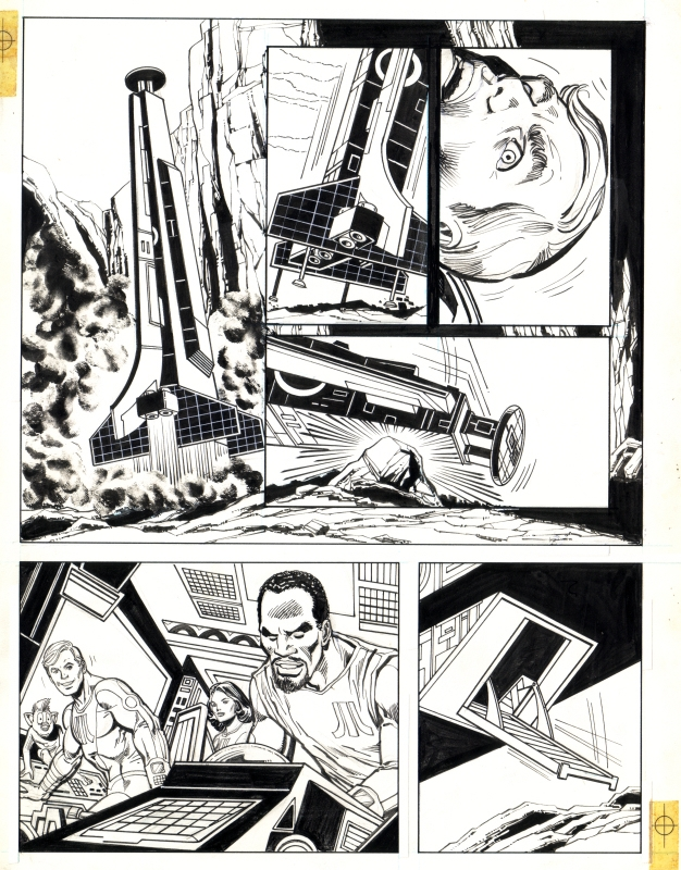 Atari Force unpublished story, page 05 featuring Martin