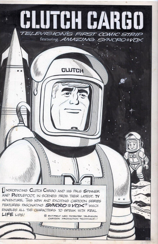 HAAS, CLARK (creator) - Clutch Cargo in Jack & Jill magazine, 1961