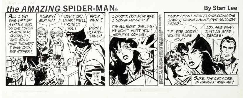 SOBRE STAN LEE: ¿Es Stan Lee el padre del comic? ASpidey4885