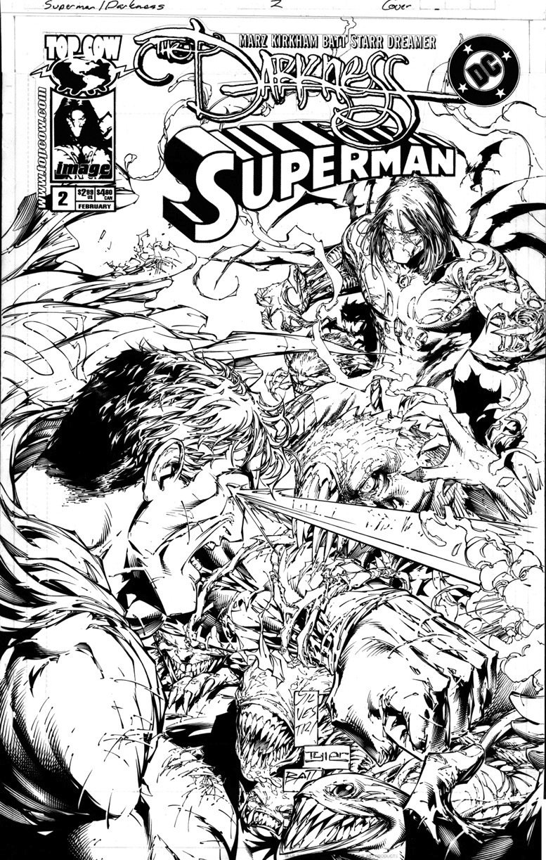 silvestri marc darkness superman 2 cover all out battle between X-Men the Official Game silvestri marc darkness superman 2 cover all out battle between these two