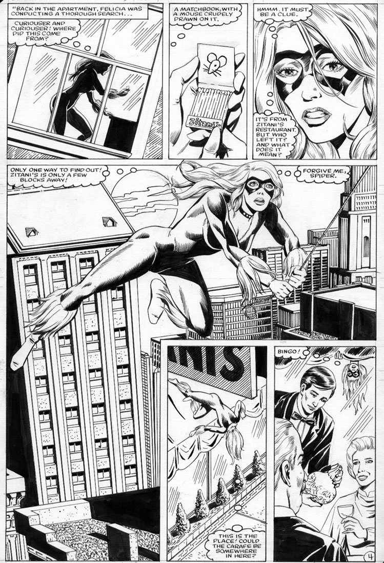 Randall Ron Spectacular Spider Man Annual 4 Pg 4 Black