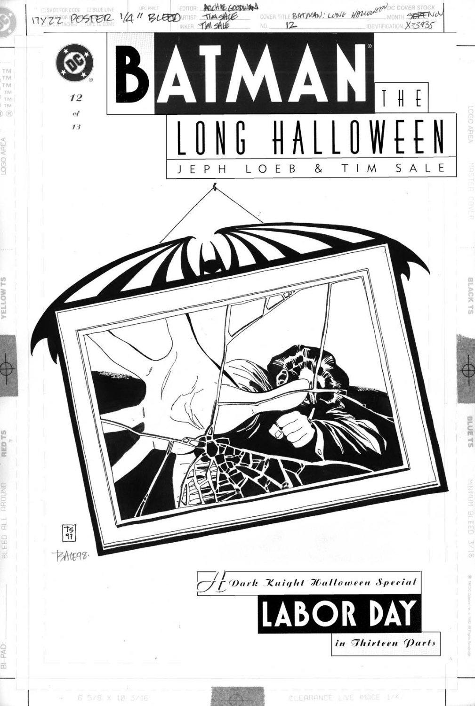 SALE, TIM - Batman: Long Halloween #12 cover, Two-Face / Harvey Dent ...