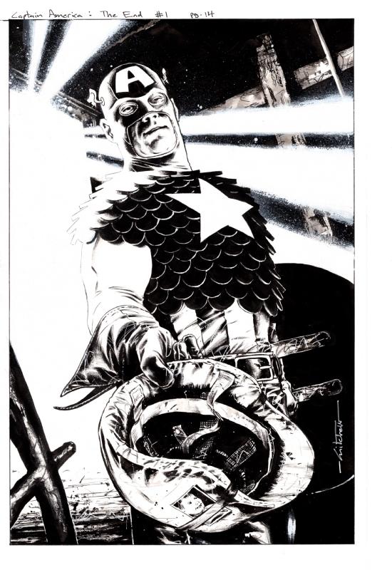 Breitweiser Captain America The Chosen #1 Page 14, in Doug
