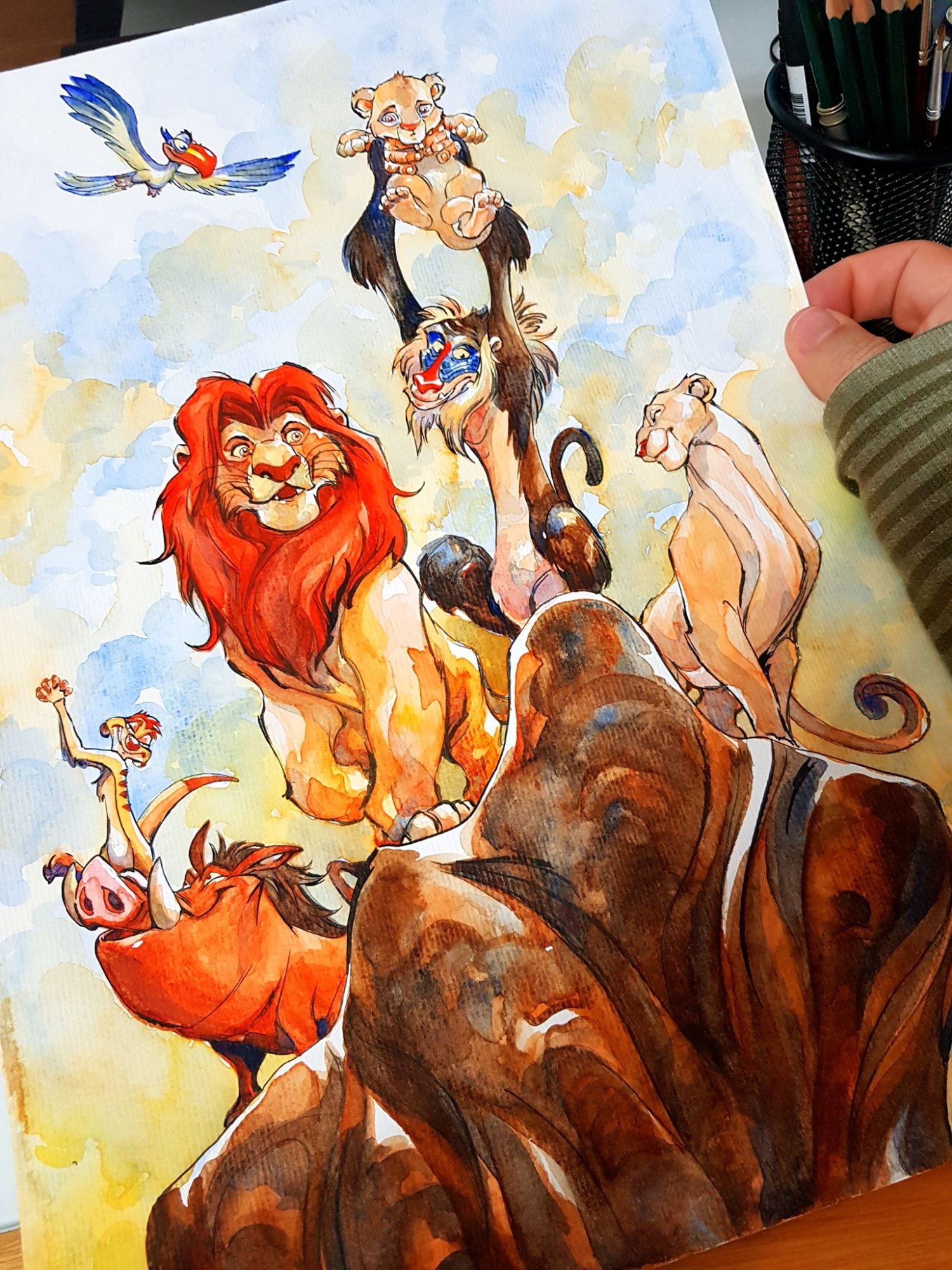 The Lion King In Eduardo Franciscos Covers And