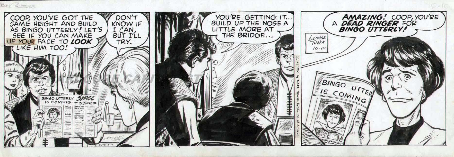 George the comic strip