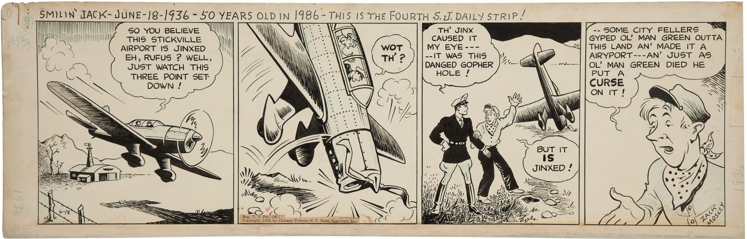 Comic strip zack mosley