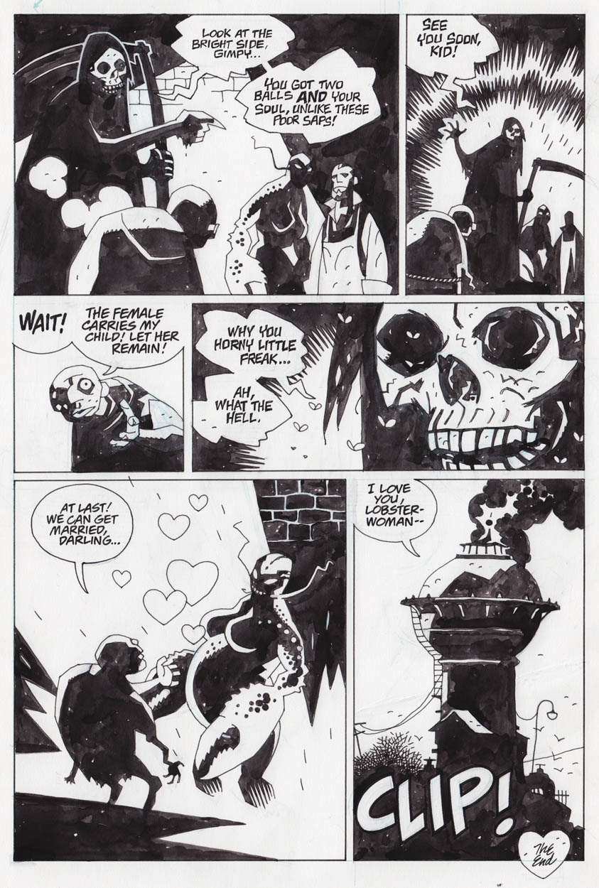 Hellboy Jr Squid Of Man Page 6 In Peter Ps Mike Mignola Comic