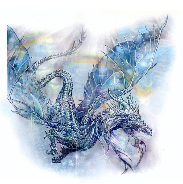 Dragon arc en ciel in kam blagowski 39 s s verine pineaux - Dragon arc en ciel ...