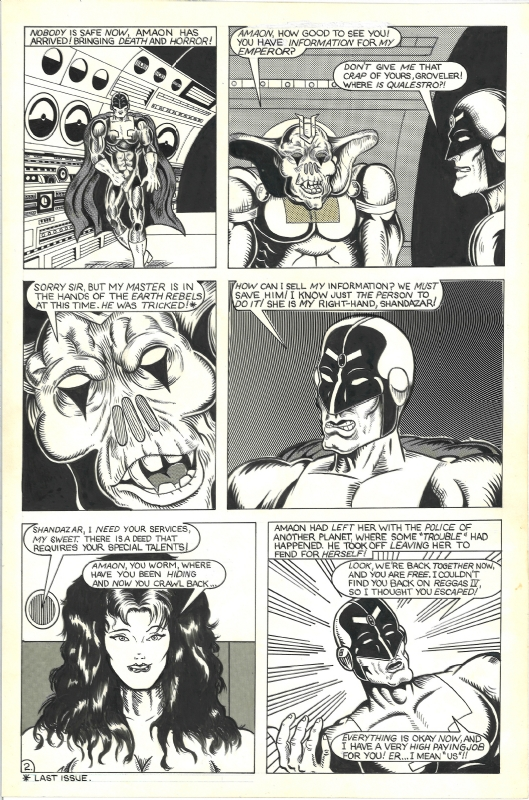 L I F E  Brigade #3 Page 2, in Chris Pitzer's Craig Storman