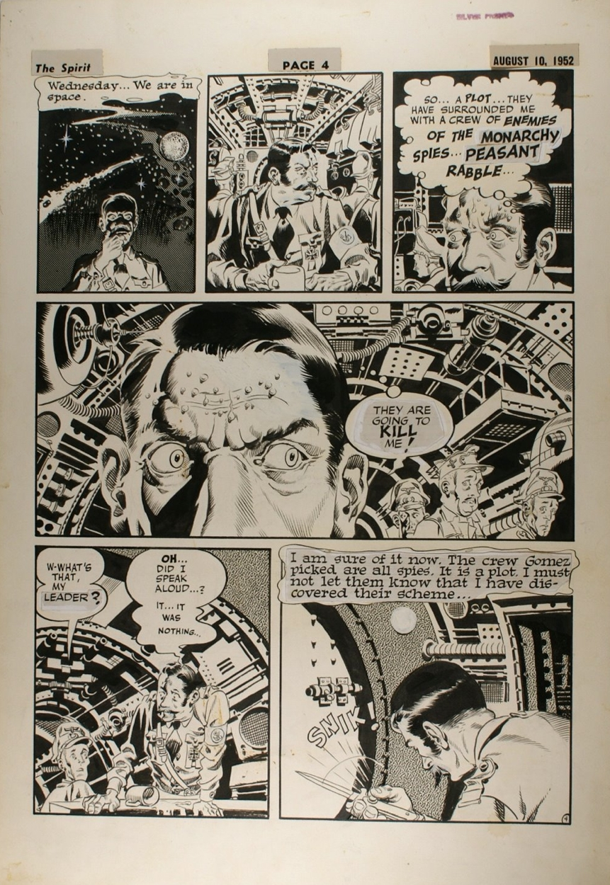 Wally Wood Outer Space Spririt