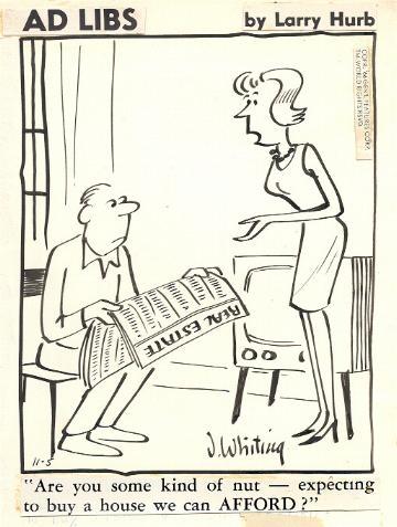Ad Libs, November 5 1966, in Sean F  Collins's Comic Strips