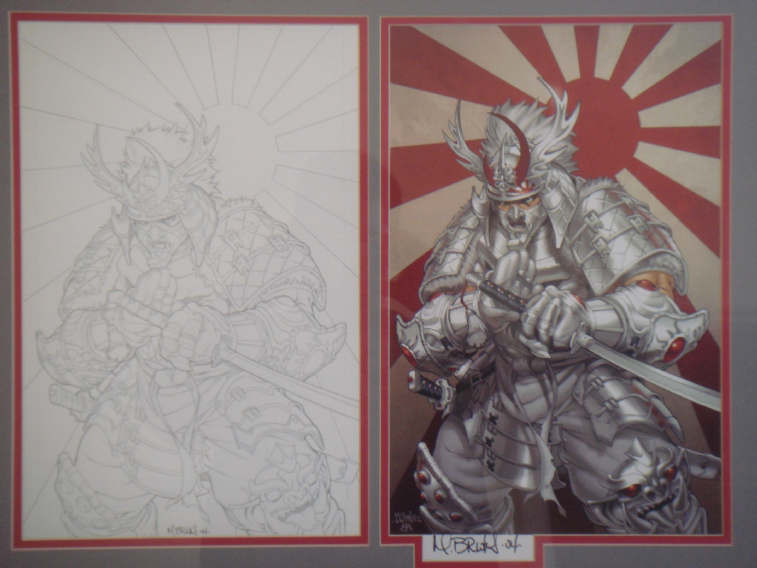 Silver Samurai By Mark Brooks In Wesley James S Wesley border=