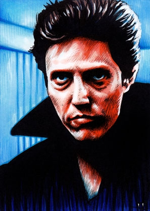 Christopher Walken by Trev Murphy, in Holly Burnett's Trev