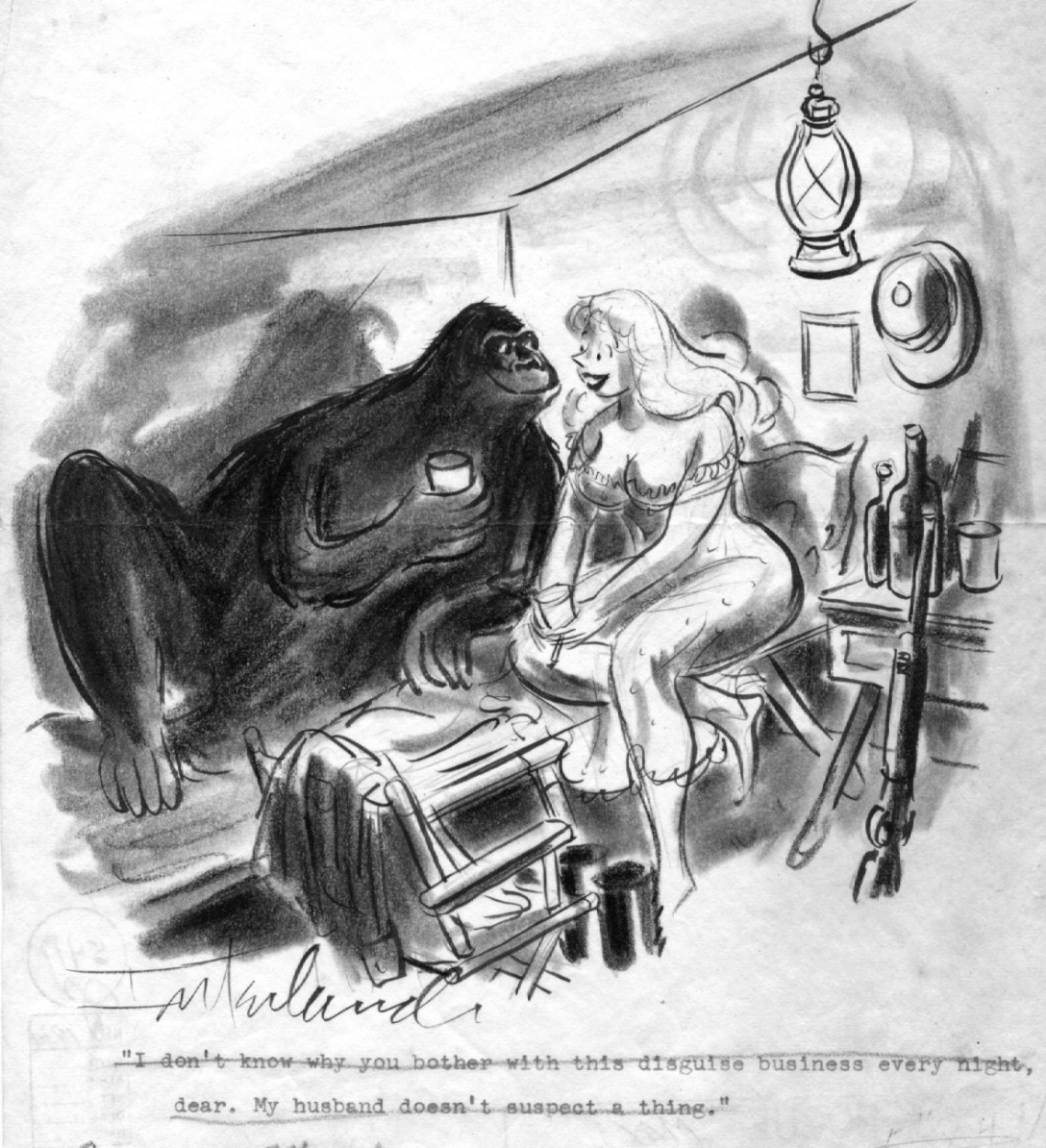 2D Sex Comics gorilla sex cartoon, in george hagenauer's keeper gorillas