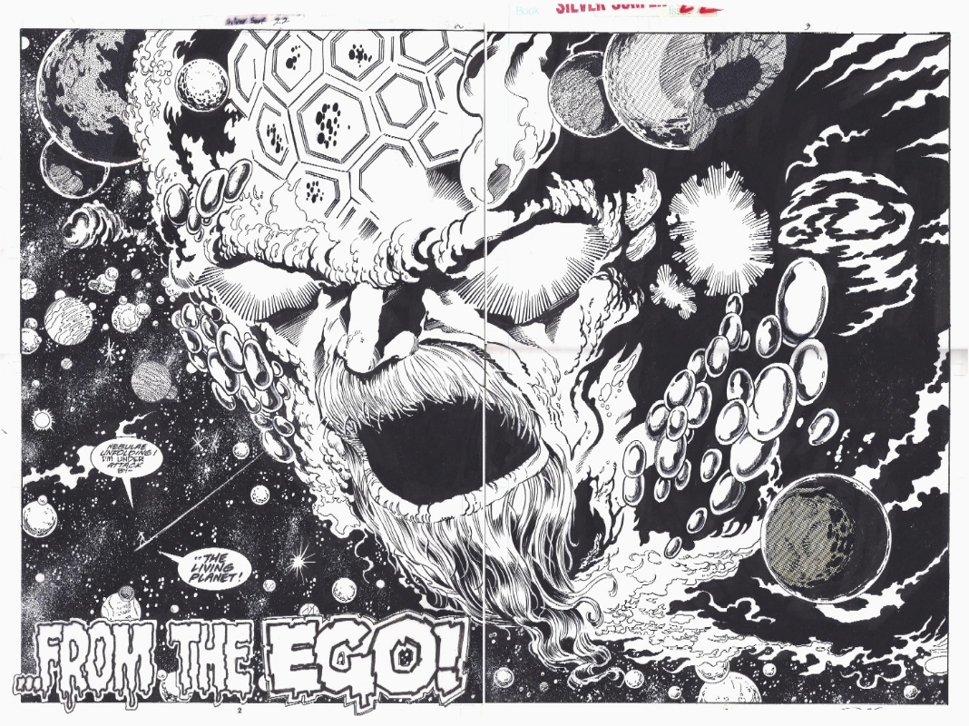 silver surfer vol 3 22 pg 2 and 3 ron lim tom christopher in