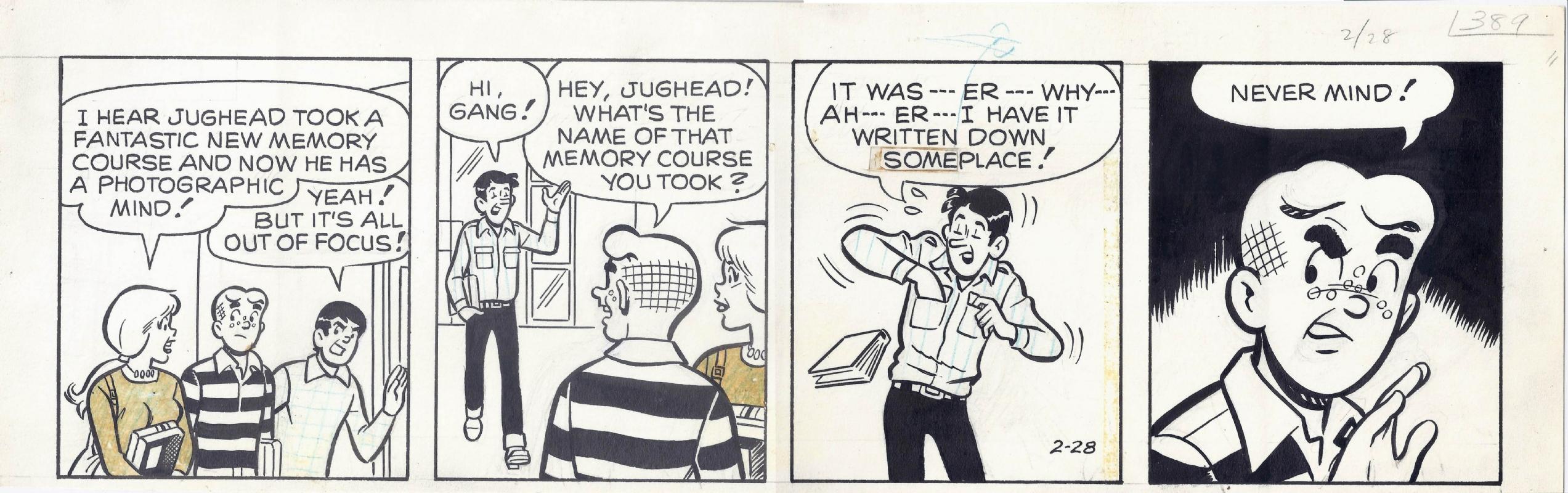 Archie comc strip
