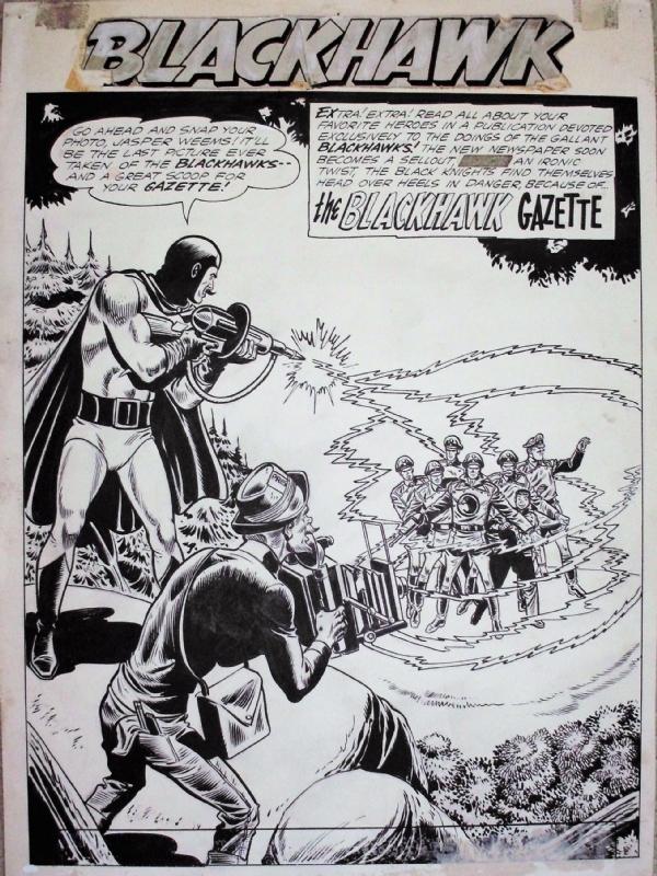 Blackhawk #173 Title Splash (1962) - Dillin and Cuidera, in