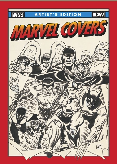 Solo Avengers #19 cover, in Eric DLS's Plunkett Gallery Room