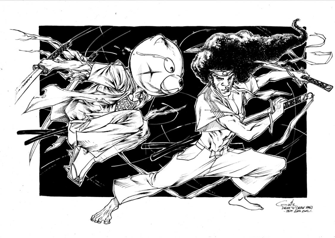 Resultado de imagen para afro samurai