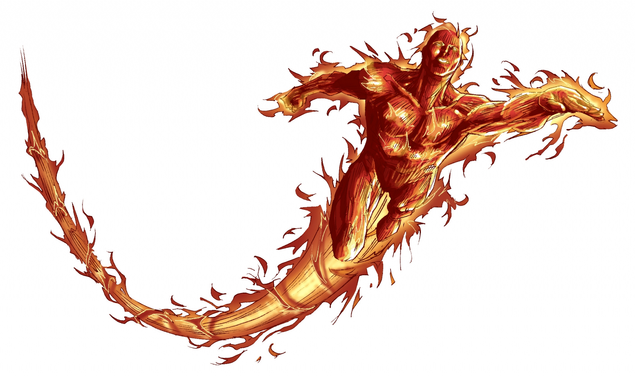 The Human Torch!, in Spider Guile\'s Spiderguile Stuff Comic Art ...