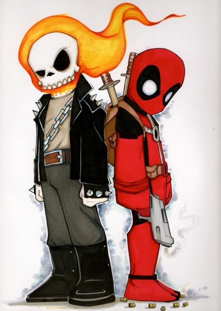 Chris Uminga Ghost Rider Deadpool In Rod Addamos My Collection