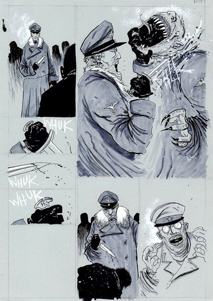 30 Days Of Night Red Snow 2 Pg 15 By Ben Templesmith In Ben