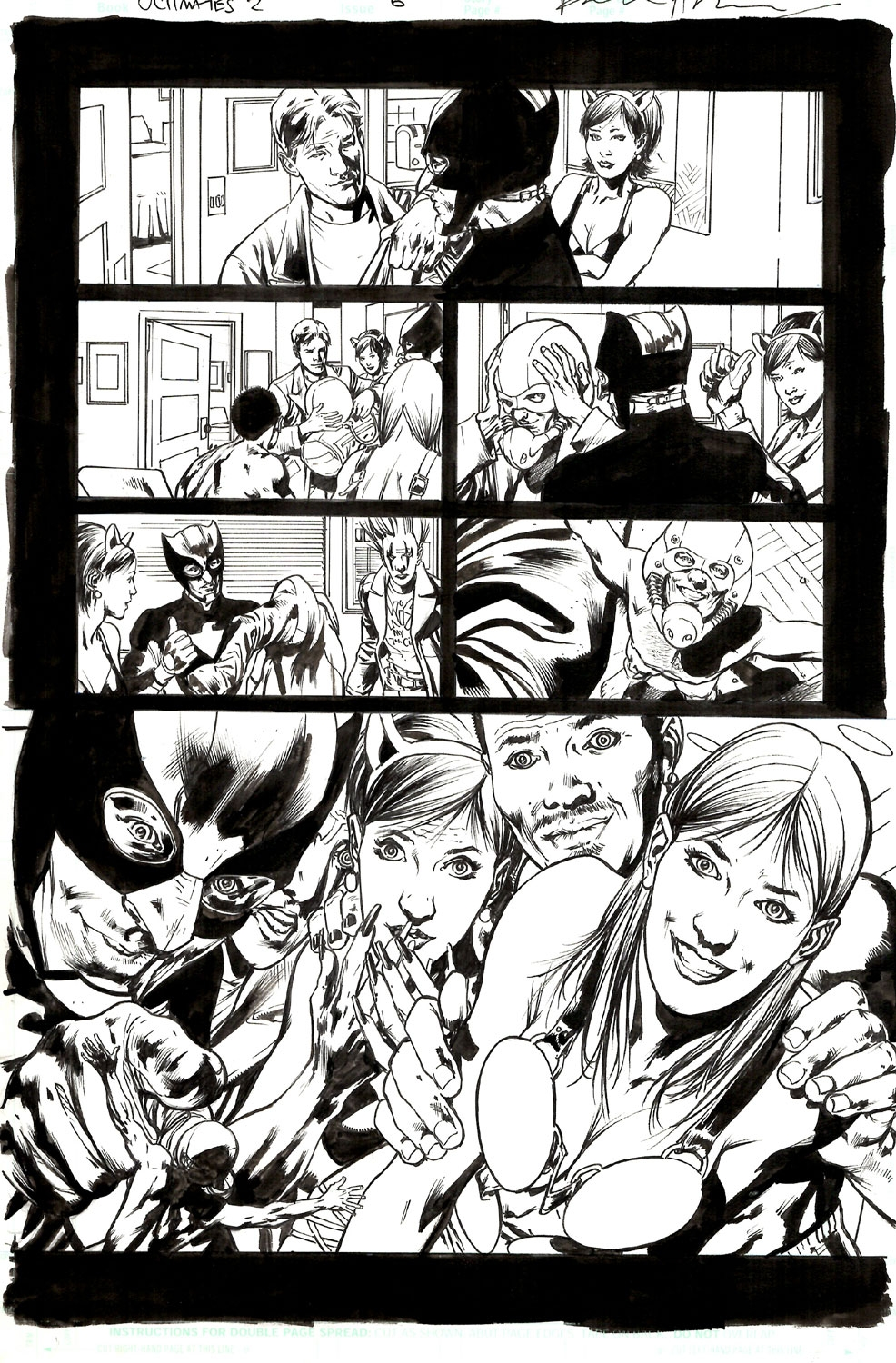 Comics hot galleries page