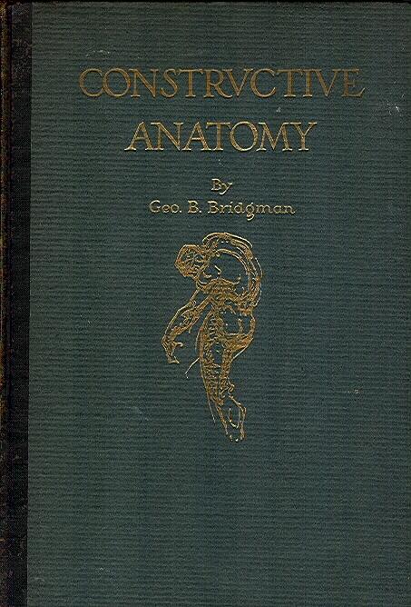 Bridgman Constructive Anatomy Signed 1st Ed In Jerry Mcgurf S