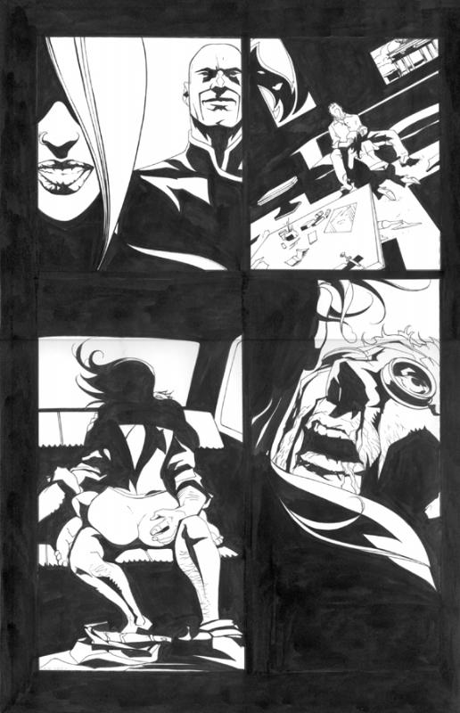 Tegneserie sex-serie