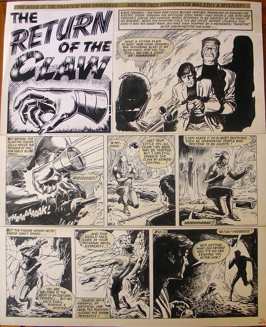 Jesus Blasco Return of the Claw, in JAUME VAQUER MESTRE's