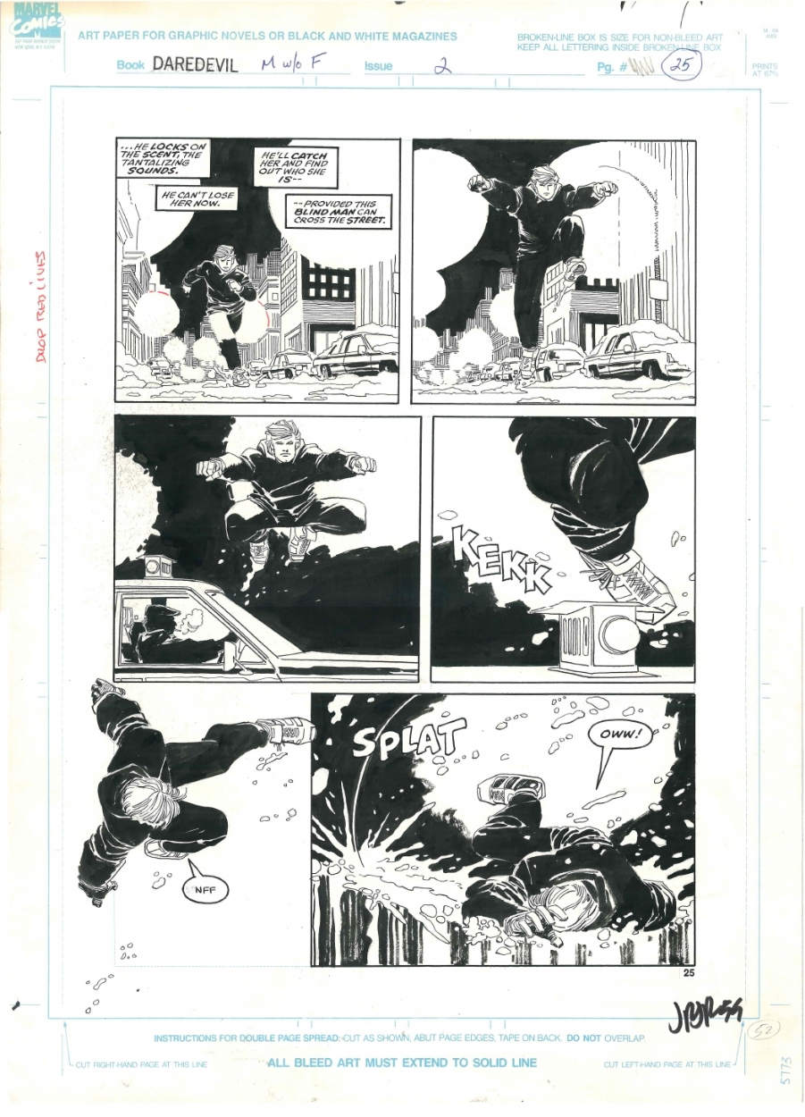 2018 buty nowe tanie outlet na sprzedaż Daredevil: The Man Without Fear Mini - Issue 2 P.25 by Frank ...