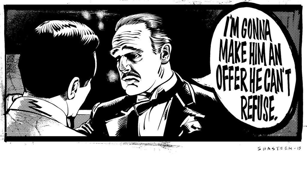 Im Gonna Make Him An Offer He Cant Refuse The Godfather By Tony