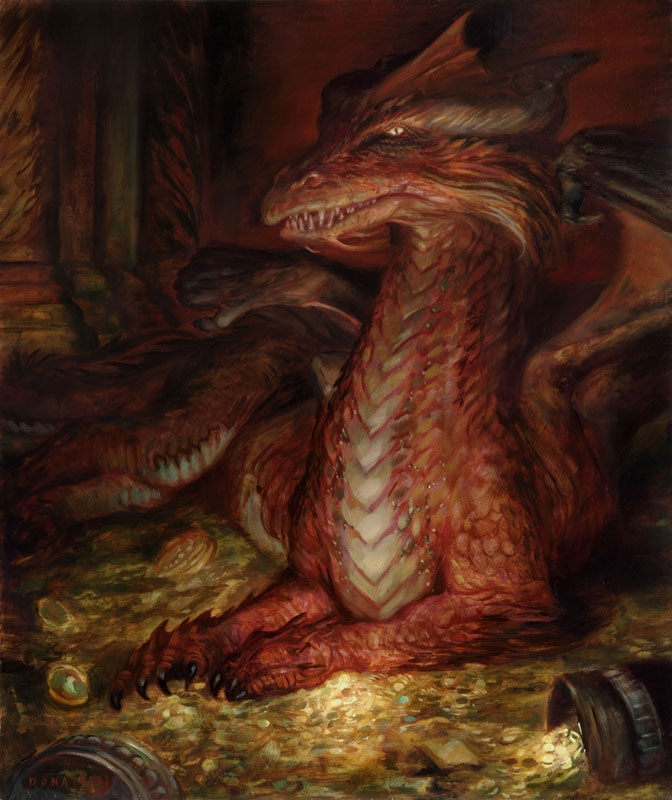 Image result for donato Giancola smaug the golden