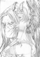 The darkness angelus hentai bukkake