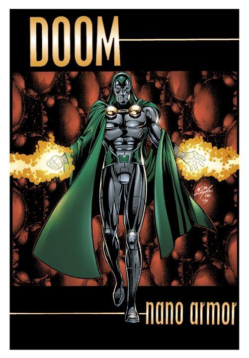 Doctor Doom Concept Art