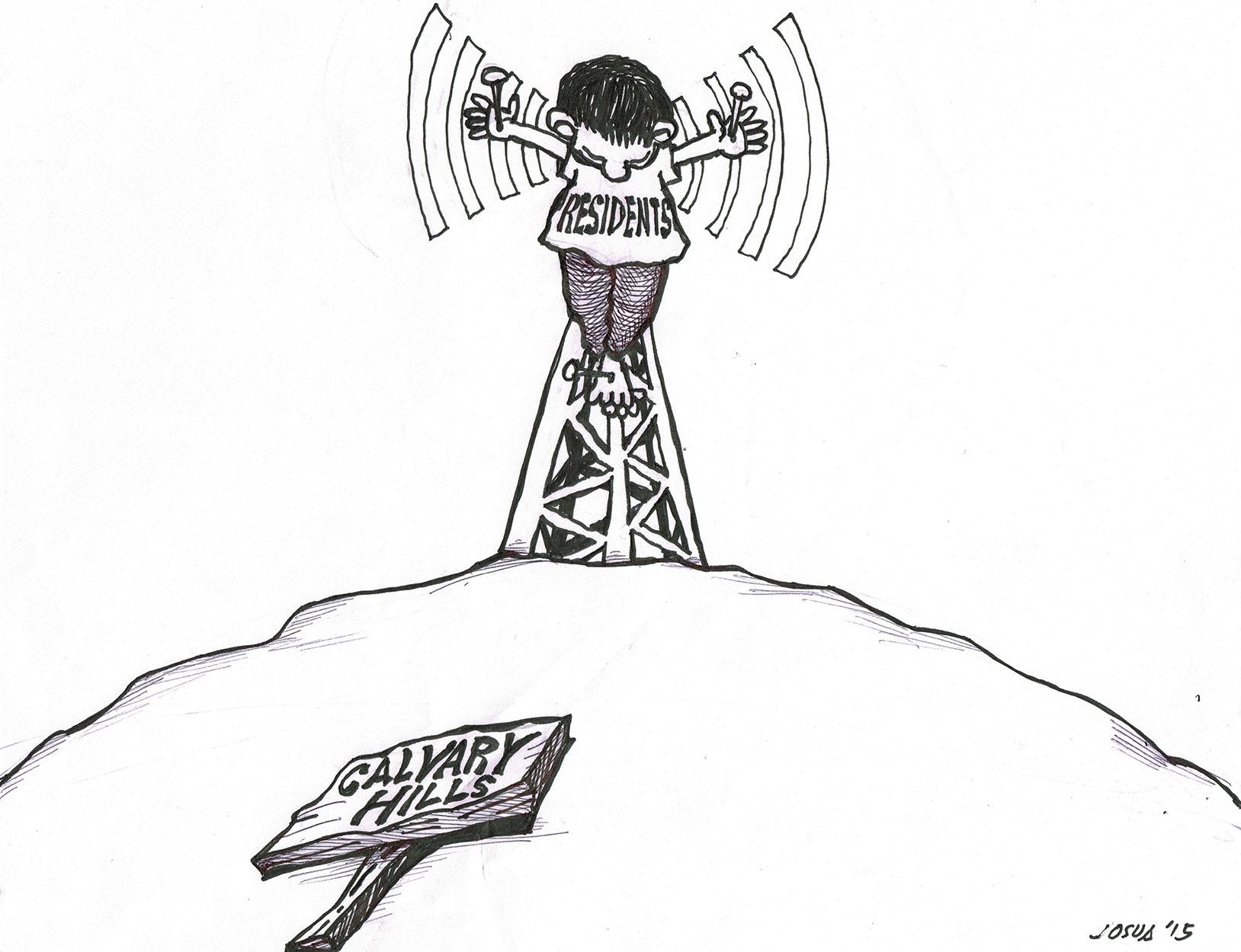 SunStar Cebu Editorial Cartoon (2015) dated May 29 by Josua