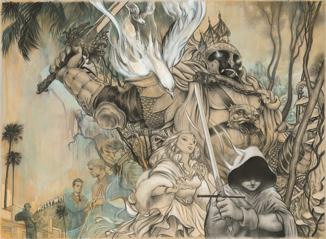 James Jean Fables Tpb 6 Homelands In Constant Ns James