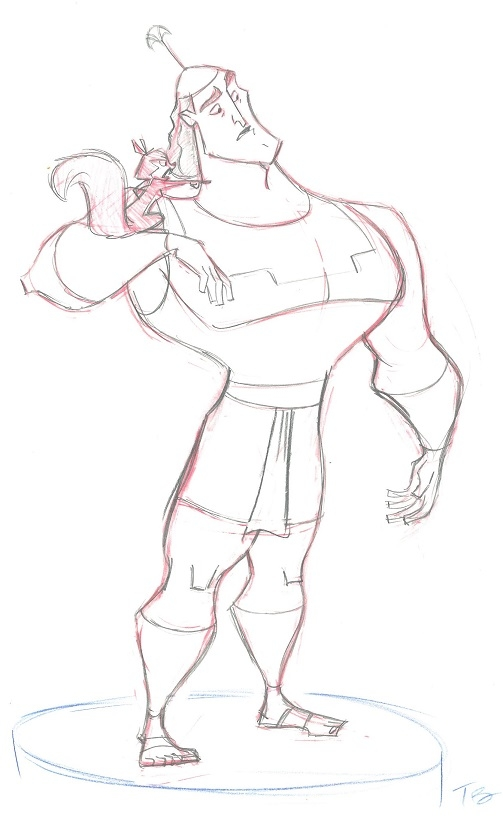 kronk coloring pages - photo#6