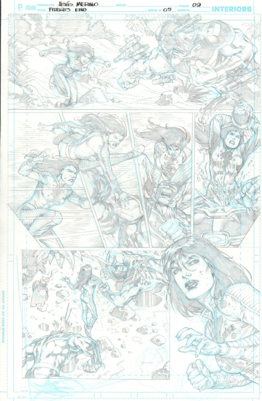 the new 52 futures end nº 5 pag 9 in j r s jesus merino comic art